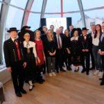Bourse AGAL 2019 : Les lauréats entourés des membres de l'association