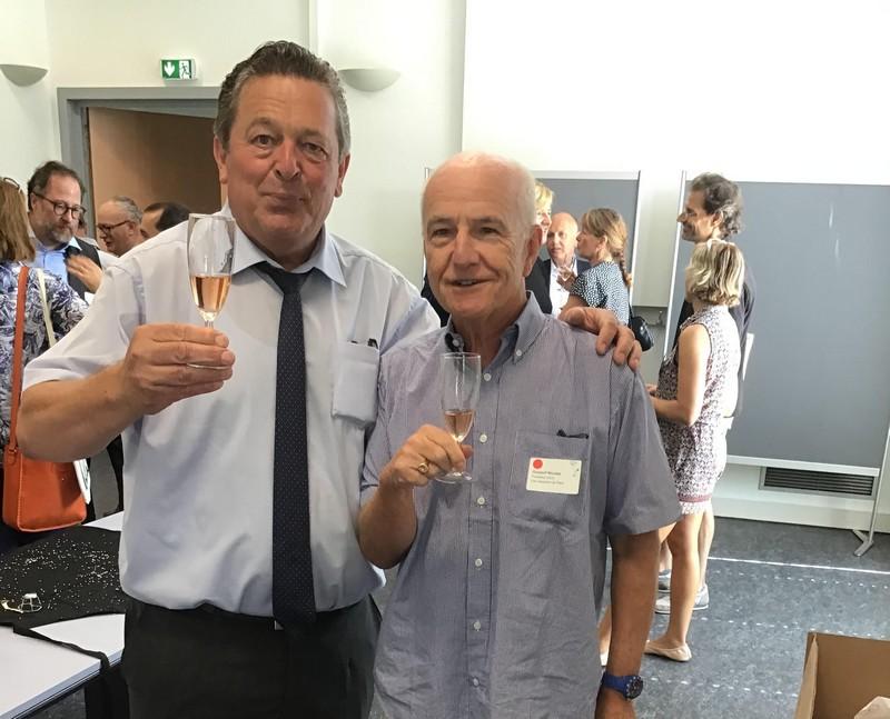 Nicolas GUSDORF et Jacques CATTIN député du Haut-Rhin la 2ème circonscription