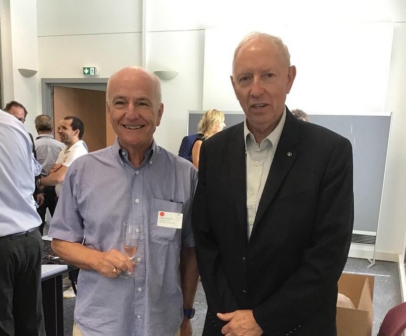 Nicolas GUSDORF et notre aministrateur H.G. Redelsperger