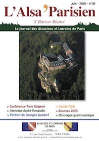 Couverture de l'ALSA'PARISIEN numéro 30