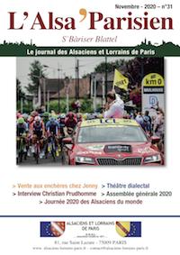 Couverture L'Alsa Parisien 31
